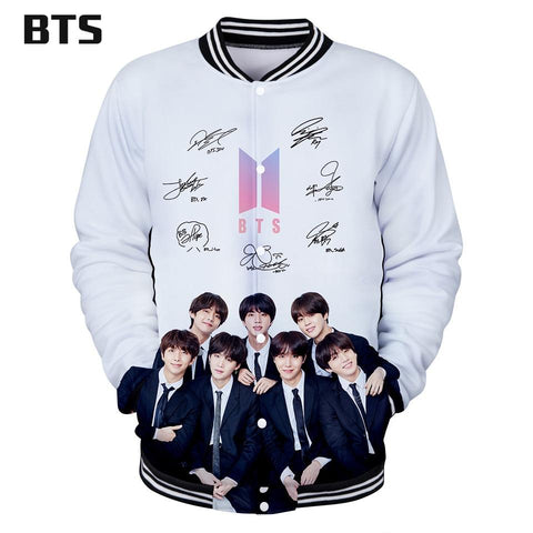 Trendy BTS 3D Kawaii Jacket Print Autumn Long Sleeve Harajuku Baseball Jacket for Women/Men Clothes 2018 Kpop Plus Size Q0331-Q0336 AT_94_13