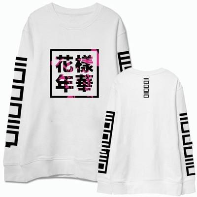 KPOP BTS Bangtan Boys Army  Hot Sale Lady's Sweatshirts Female O-Neck Casual Sweatshirts Print Hoodies Women Long Sleeve Hoodies Sudaderas Mujer F0256 AT_89_10