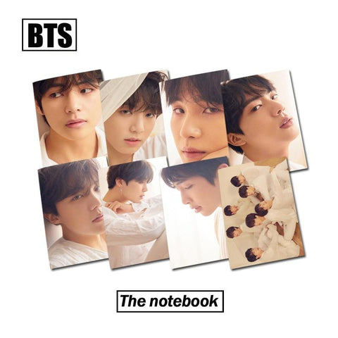 KPOP BTS Bangtan Boys Army 1 Pcs   Love Yourself Answer  Boys  Notebook Rubber Sleeve Stationary Diary Manuscript Travel Journal Book AT_89_10