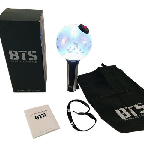 KPOP BTS Bangtan Boys Army   Boys BT21  Light Sticks Jimin Jung Kook Suga V Concert VER.2   Glow Stick Lamp Fans Gifts AT_89_10
