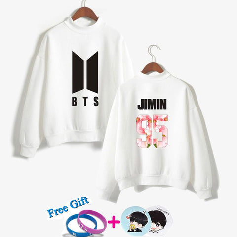 KPOP BTS Bangtan Boys Army  k pop Love Yourself Women Hoodies Sweatshirts  Hoodie  Boys jimin jongens uitloper Hiphop outwear Hip-Hop Clothes AT_89_10