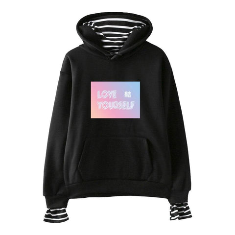 KPOP BTS Bangtan Boys Army LUCKYFRIDAYF  Love Yourself Answer Hoodies Sweatshirts Harajuku Women/Men Hip Hop Hoodies Clothes 4XL AT_89_10