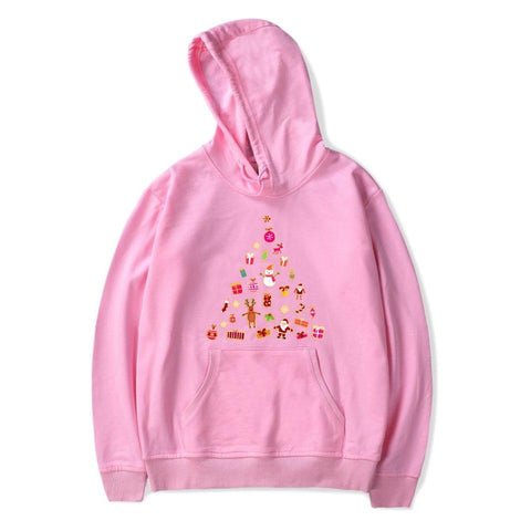 KPOP BTS Bangtan Boys Army   Christmas Hoodies Sweatshirts Western Traditional Festival Casual Kawaii Sweatshirt Winter Christmas Cartoon Clothes AT_89_10