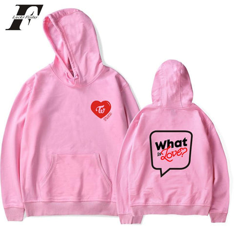 KPOP BTS Bangtan Boys Army  2018 Twice cotton oversized hoodie sweatshirt  tracksuit harajuku hit hop sweatshirts Women/Men K-pop moletom Clothes AT_89_10