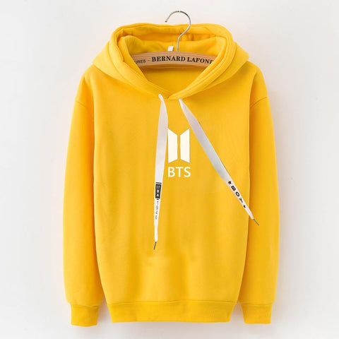 KPOP BTS Bangtan Boys Army New high quality  k-pop hoodie GIRLS boys students Pullover Men Women birthday gift HOODED yellow Hoodies Coat PLUS SIZE XXXL AT_89_10