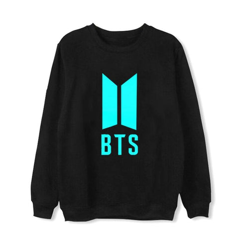 KPOP BTS Bangtan Boys Army   Nightlight Sweatshirts Hoodies Pullover Women Men Moleton College Young Tracksuit Cotton Harajuku Top Coat AT_89_10