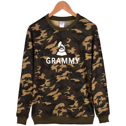 KPOP BTS Bangtan Boys Army New Design  Grammy Awards Print Camouflage Mens Capless Hoodies And Awards Battle Fatigues Harajuku Sweatshirt Womens Clothes AT_89_10