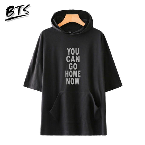 KPOP BTS Bangtan Boys Army   You Can Go Home Now Harajuku Short Sleeve Hoodies Sweatshirts Women Clothes 2018 Hip Hop Casual Print Plus Size A8857 AT_89_10