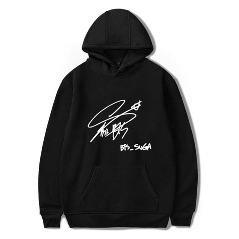 KPOP BTS Bangtan Boys Army   Boys Popular Idol Member Signature Hoodies K-pop Love Yourself Fashion Women Hoodies Sweatshirt Hip Hop Clothes AT_89_10
