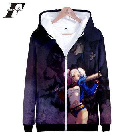 3730acf80 KPOP BTS Bangtan Boys Army 2018 Harajuku 3d zipper Hoodies Sweatshirts women  men Suicide Squad Long