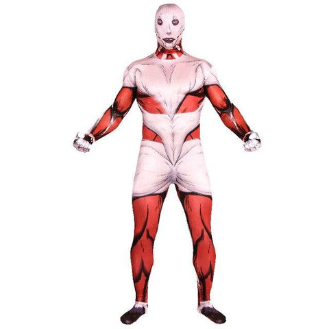 Cool Attack On Titan High Quality Men Cosplay Costume Adult Zentai