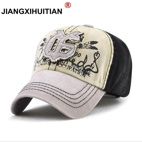 Trendy Winter Jacket  Retro Baseball Cap Men Cotton Sun Hat For Women Hip Hop kpop Trucker Hat Unisex Snapback Cap Casquette AT_92_12