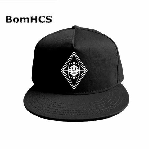 Trendy Winter Jacket BomHCS Kpop CNBLUE Code Name BLUE Hat Snapback Adjustable Fanshion Hip Hop Fishing Tennis Golf Baseball Cap AT_92_12