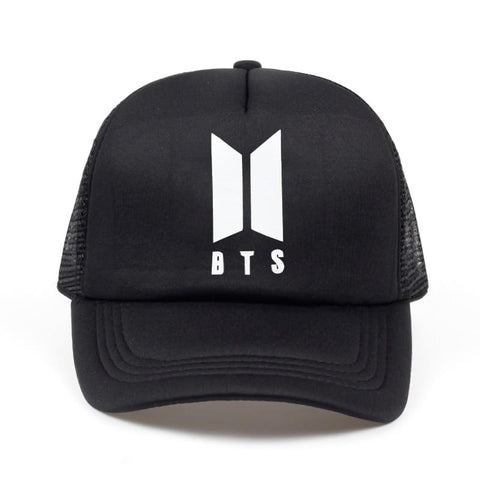 Trendy Winter Jacket 2018 new BTS print Cap Hats Bts Logo Baseball cap Version A Bulletproof Style High Quality Snapback k-pop AT_92_12