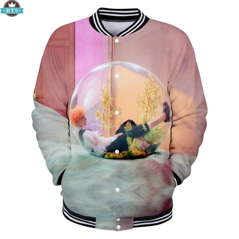 Trendy 2018 BTS New Album Love Yourself Answer Kpop Baseball Jackets Women/Men Fashion 3D Print Jackets BTS Casual Streetwear Clothes AT_94_13