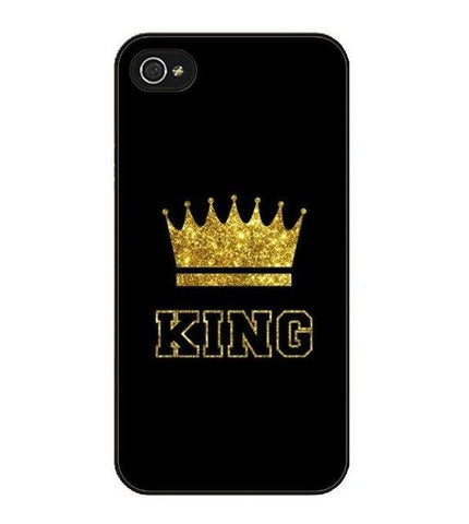 Trendy King Queen Coque Hard Case Cover for Samsung Galaxy s4 s5 s6 edge S7 edge note 2 3 4 5 AT_94_13