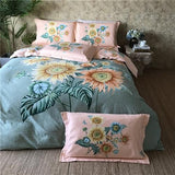 Cool New Arrival 100%Cotton Bedding Set Queen King size Bed sheet set Duvet Cover Bed set linge de lit juego de cama funda camaAT_93_12