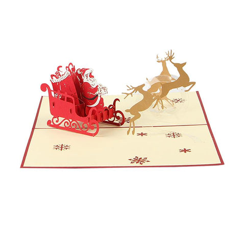 Wedding & Anniversary Bands Clever Cute Non-woven Christmas Elk Sleigh Flag Creative Garland Banner Birthday Party Room Decoration Supplies Selling Well All Over The World