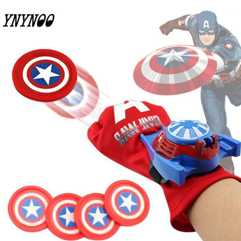 (YNYNOO)2016 Spiderman Marvel Avengers 2 Age of Ultron Hulk Black Widow Vision Ultron Iron Man Captain America Action Figures