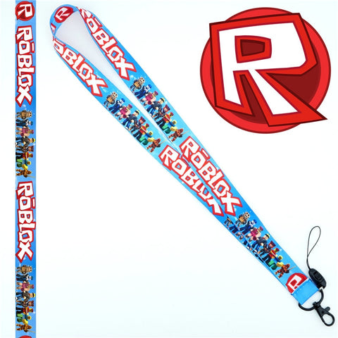 Game Roblox Neck Strap Lanyard Charms Lariat Mobile Phone Strap Id