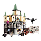 Movie Series Harry Potter Hogwarts Castle with Legoingly Building Blocks Bricks Kits