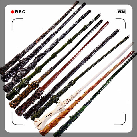 [New] New Top Quality Severus Snape Magic Wand With Gift Box Cosplay Game Prop Collection Harry Potter Toy Stick