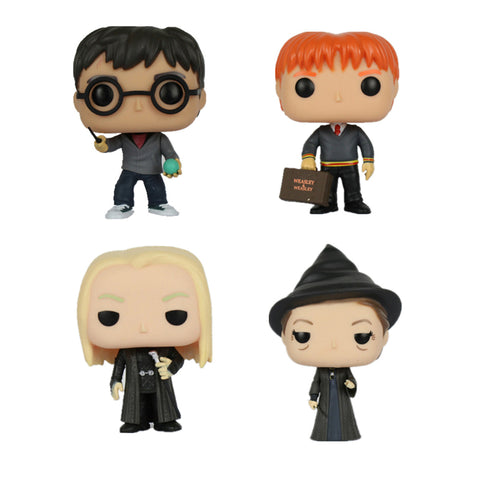 "10cm Harry Potter PVC Action Figure Doll Toys for Collection Snap 4"" 10cm"
