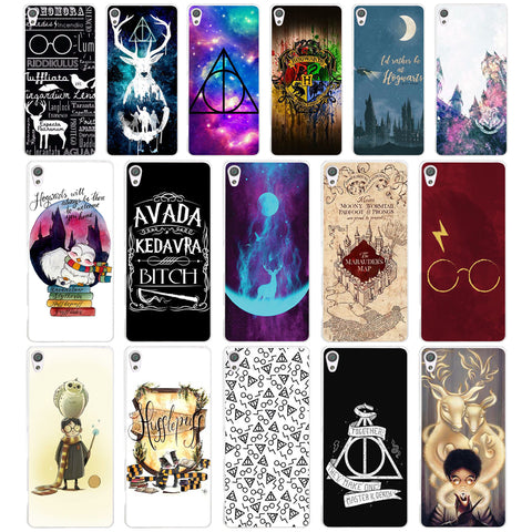 072AA  Harry Potter Hogwarts Hard Case Cover for Sony Xperia XA XA1 X XZ Z5 Z1 Z3 M4 Aqua E5 Compact Premium