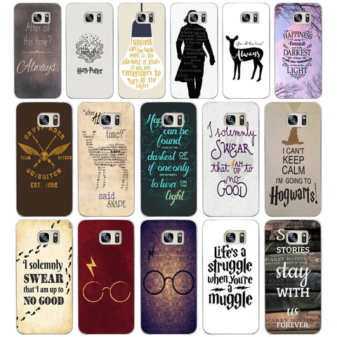 04DF After All This Time Harry Potter Hard Cover Case for Samsung Galaxy S4 S5 Mini S6 S6 S8 S9 edge plus S7 Edge