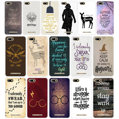 04DF After All This Time Harry Potter Hard Transparent TPU Silicone  Case cover for BQ Strike 5020 BQ Aquaris X  X5 Plus