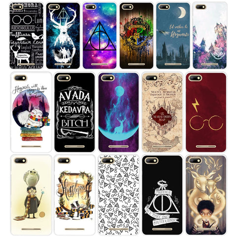 072AA  Harry Potter Hogwarts  TPU Silicone Case cover for BQ Strike 5020 BQ Aquaris X  X5 Plus
