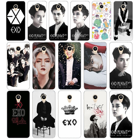 080AA  Kpop exo Lucky one  Hard Cover Case for Meizu M2 M3S M3 M3S M5S Mini M3 note M5 M6 M6 note U10 U20