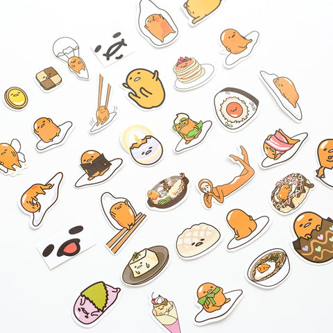 1 Pack Cute Totoro Gudetama Cat Perfume Plum Plant Decorative Stickers DIY Scrapbooking Diary Album Stick Label Party Decor
