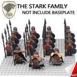 19PCS/LOT Game of Thrones Medieval Army Troops With Weapons Building Blocks Bricks Action Figures Christmas Toys for Children