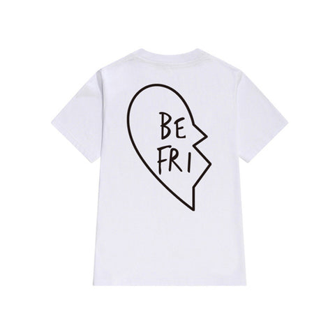 Best Friends T Shirt Women New Summer Vegan Harajuku Kawaii Funny Sexy BTS Kpop White Printed Vintage Tops Plus Size Clothing