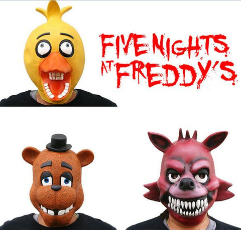 Five Nights At Freddy's 4 FNAF Bonnie Foxy Freddy Fazbear Bear mask  SQ12017  game