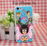 Bobs Burgers Tina Belcher Hard White Cover Case for iPhone 4 4s 5 5s 5c 6 6s Protect Phone Cases - Animetee - 3