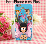 Bobs Burgers Tina Belcher Hard White Cover Case for iPhone 4 4s 5 5s 5c 6 6s Protect Phone Cases - Animetee - 6