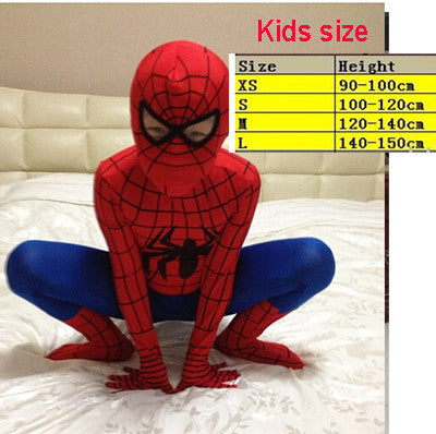 Spiderman Spider Man Venom Superhero Cosplay Costume Lycra material youth and adult sizes - Animetee - 3