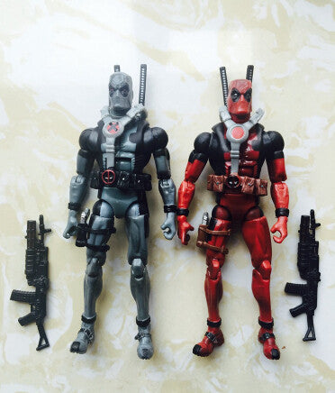 18cm Super hero Justice league X-MAN Deadpool PVC Action Figure Collectible Toy Christmas Toy - Animetee - 1