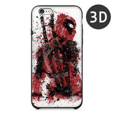 2016 Hot Selling 3D Super Cool Marvel Hero Deadpool Coque Fundas Black Soft Silicone Case For iPhone 5 5S 6 6S 6Plus Cover Case - Animetee - 11