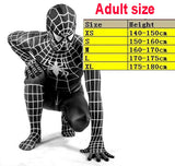 Spiderman Spider Man Venom Superhero Cosplay Costume Lycra material youth and adult sizes - Animetee - 5