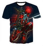 All Over Print Dead Pool Posing FTW Tee T-Shirt - Animetee - 2