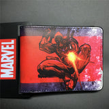 2016 New Arrive PVC and PU Leather Purse American Marvel Comic Deadpool Wallet With Card Holder Dollar Price Free Shipping - Animetee - 8