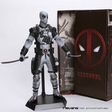 "Deadpool PVC Action Figure Collectible Model Toy 12"" 30cm red / sliver HRFG516 - Animetee - 3"
