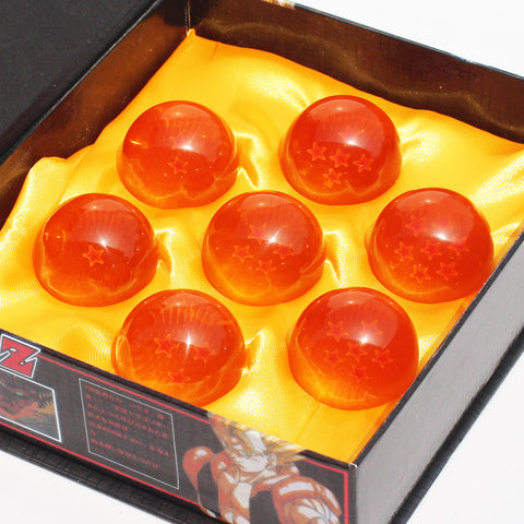 Dragon Ball Z 3.5CM DragonBall Figure 7 Stars Crystal Ball PVC Figure Toys 1~7 Crystal Balls Figures 7Pcs/Set Boxed Great Gift - Animetee