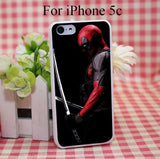 Movie Deadpool Hard White Cover Case for iPhone 4 4s 5 5s 5c 6 6s Protect Phone Cases - Animetee - 6