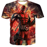 All Over Print Dead Pool Posing FTW Tee T-Shirt - Animetee - 3
