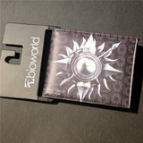 New PU Leather Wallet Game of Thrones Short Wallets With Card Holder Men And Women Purse Cartoon Wallet Dollar Price - Animetee - 8