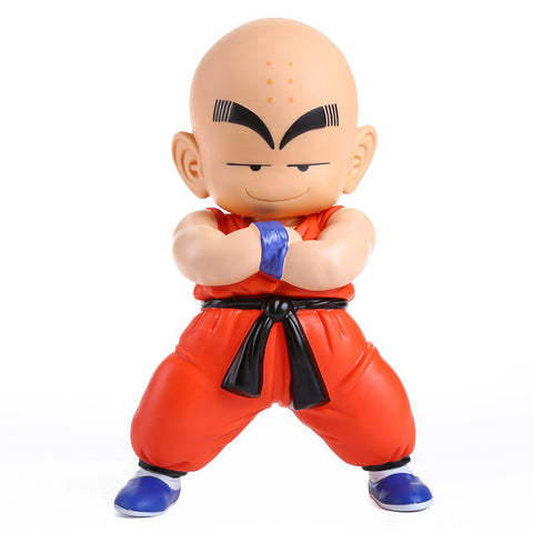 18cm Dragon Ball Z Kuririn Action Figure Toy Dragonball Kuririn PVC Figures Collection Doll With Box Free Shipping - Animetee